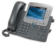 Satılan 2.el Cisco Unified IP Phone 7975, Gig Ethernet, Color örnek resim