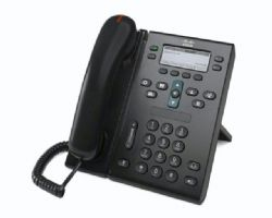 2.el Cisco Unified IP Phone 6941, Charcoal, Standard Handset ürün resmi